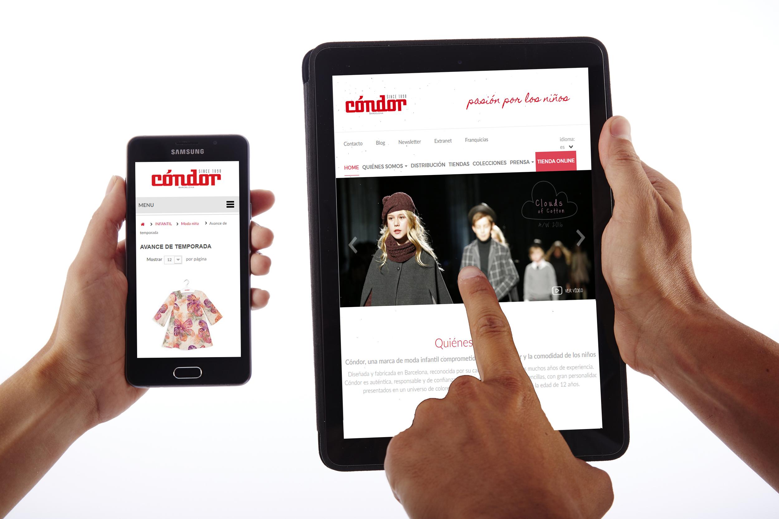 Nueva pagina web y tienda online