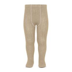 Collants basiques côtelées NOUGAT