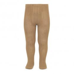 Basic rib tights CAMEL