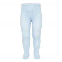 Basic rib tights BABY BLUE