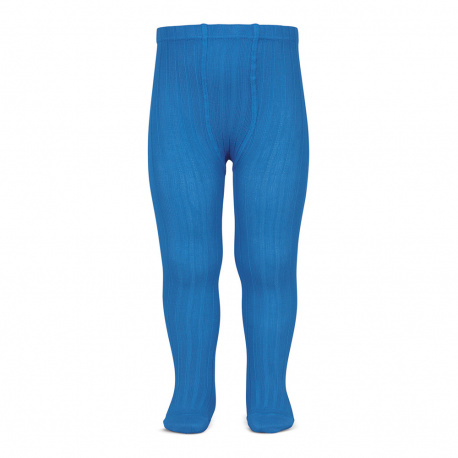 Basic rib tights ELECTRIC BLUE