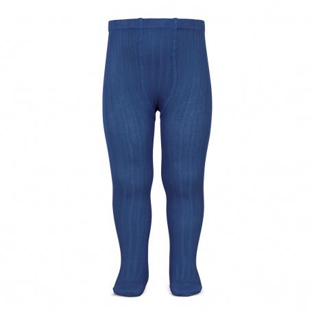 Basic rib tights INDIGO BLUE