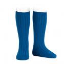 Basic rib knee high socks ATLANTIC