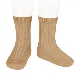 Calcetines básicos canalé CAMEL