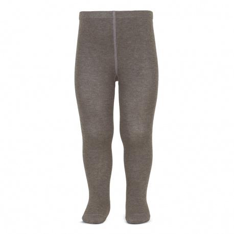 Plain stitch basic tights TRUNK