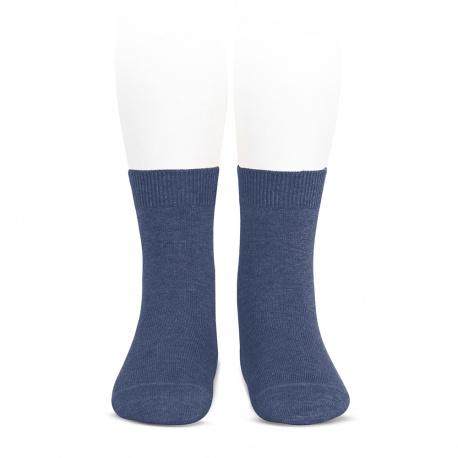 Chaussettes courtes unies basiques JEAN