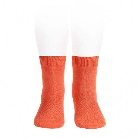Plain stitch basic short socks MANI