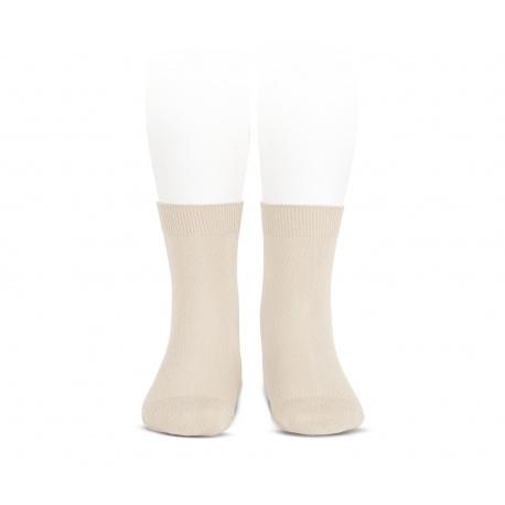 Elastic cotton short socks LINEN