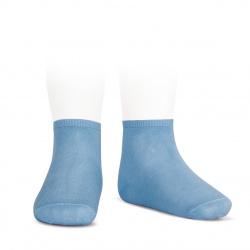 Calcetines tobilleros algodón elástico AZULADO