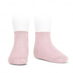 Elastic cotton ankle socks PINK