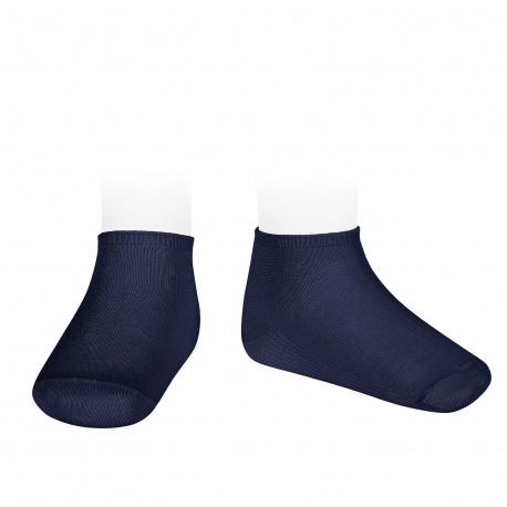 Calcetines invisibles algodón elástico MARINO