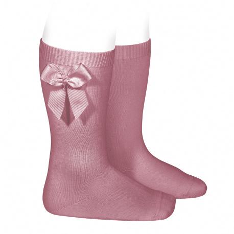 Chaussettes hautes coton avec noeud latéral TAMARIS
