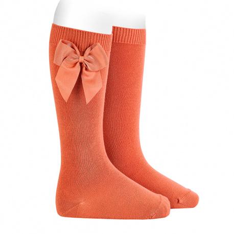 Calcetines altos algodón con lazo lateral MANI
