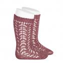 Chaussettes hautes ajourées avec fil brillant TAMARIS