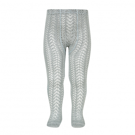 Perle openwork tights DRY GREEN