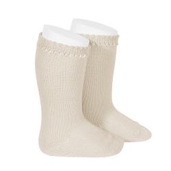 Chaussettes hautes coton LIN