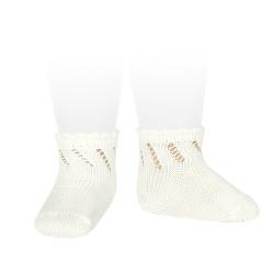 Calcetines cortos perlé calados CAVA