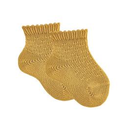 Chaussettes courtes micro relief
