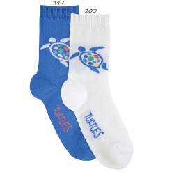 Turtle short socks