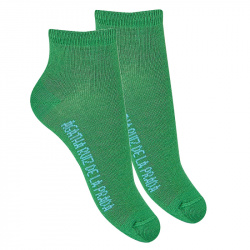 Basic ankle socks BILLIARD GREEN