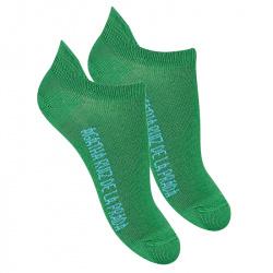 Calcetines invisibles basicos VERDE BILLAR
