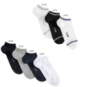 Chaussettes invisibles sport avec rayures