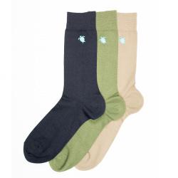 Men seaqual turtle embroidery short socks