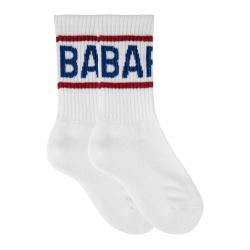 Calcetines cortos con letras barça con rizo