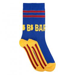 Barça striped short socks for men
