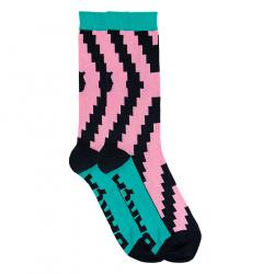 Barça zig-zag short socks for men
