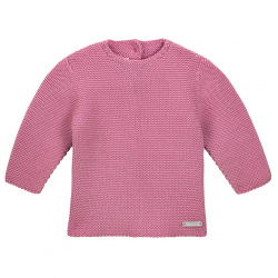 Garter stitch sweater CASSIS