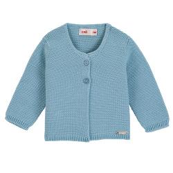 Garter stitch cardigan CLOUD