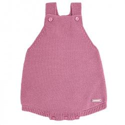 garter stitch baby romper CASSIS