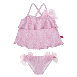 Tankini pink ballerina upf50 llaços organza PETAL