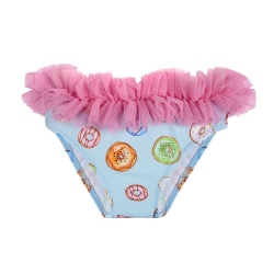 Culotte de bain delicakes upf50 avec tulle AIGUE-MARINE