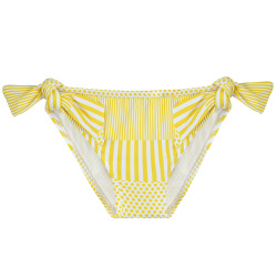 Braguita bikini upf50 anudada sunshine LIMONCELLO