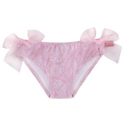 Culotte bain pink ballerina upf50 noeud tulle PETALE