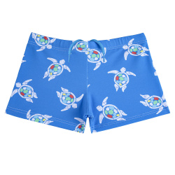 Boxer de bain save the turtles upf50 GROS BLEU