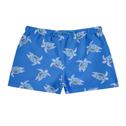 Boxer de bain save the turtles quick dry GROS BLEU