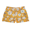 Sunny summer quick dry boxer swimsuit MUSTARD