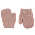 Merino wool-blend one-finger mittens MAKE-UP