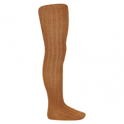 Wool rib tights OXIDE