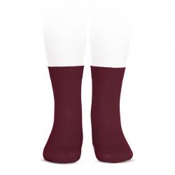 Chaussettes coton elastique BOURGOGNE
