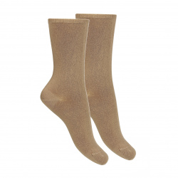 Calcetines punto liso modal mujer