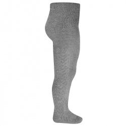 Side patterned tights LIGHT GREY