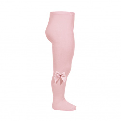 Tights with side grossgran bow PALE PINK
