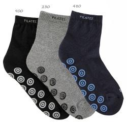Calcetines cortos mujer antideslizantes pilates