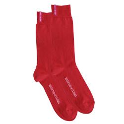 Men basic socks RED