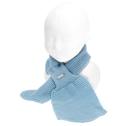 écharpe croisé bébé en tricot NUAGE