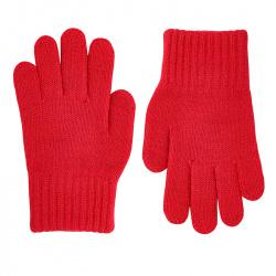 Gants tricot basiques ROUGE